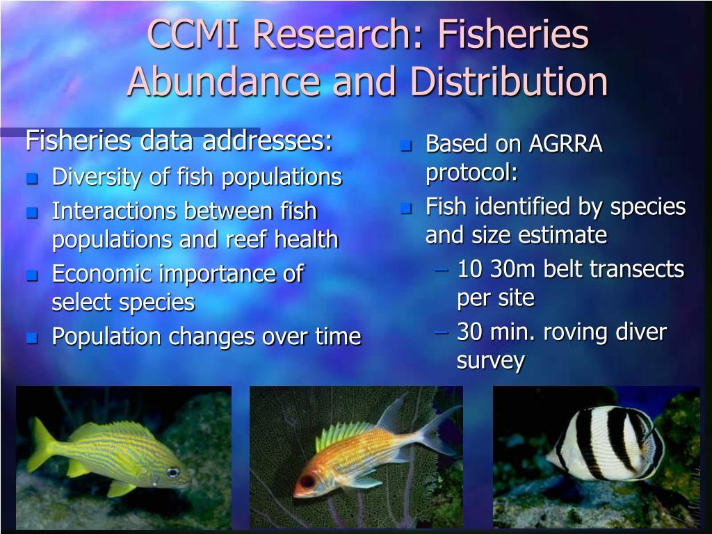 Fisheries data addresses: