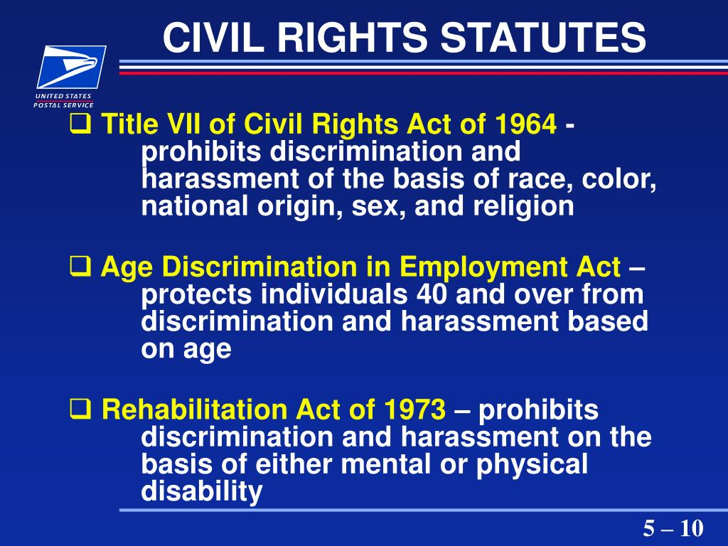 CIVIL RIGHTS STATUTES