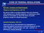 code of federal regulations39