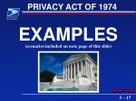 privacy act of 197417
