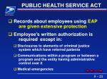 public health service act