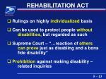 rehabilitation act13