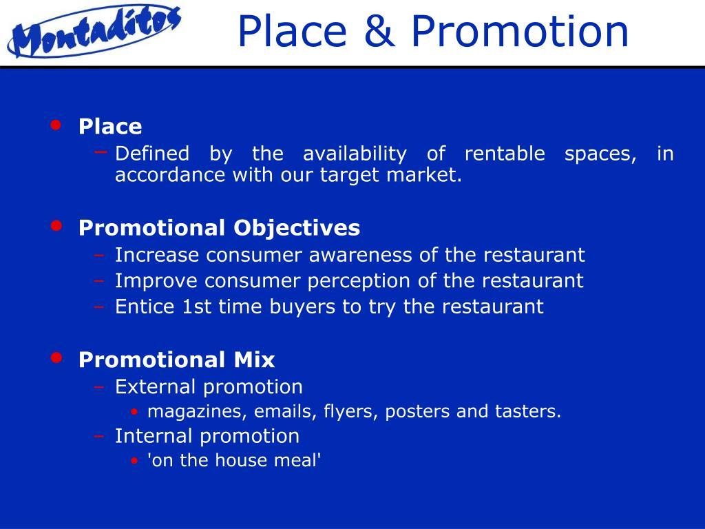 Place & Promotion