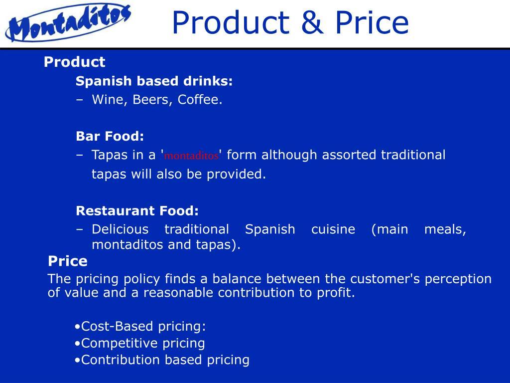 Product & Price