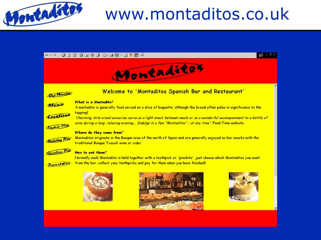 www.montaditos.co.uk