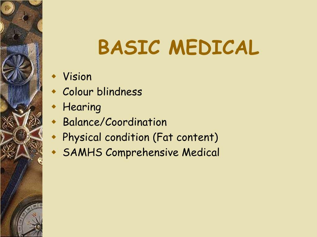 BASIC MEDICAL