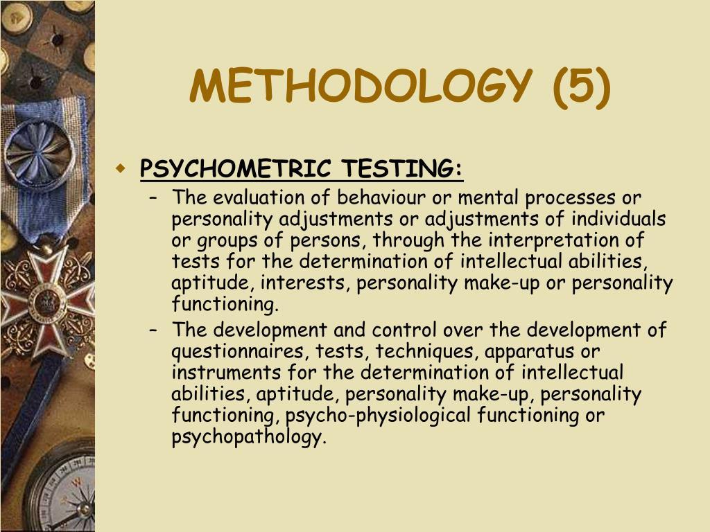 METHODOLOGY (5)