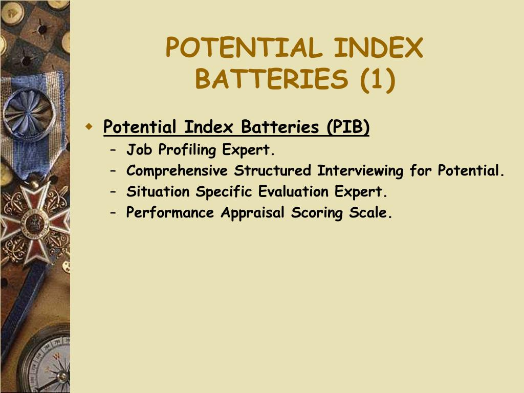 POTENTIAL INDEX BATTERIES (1)