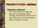 presentation agenda197