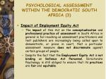 psychological assessment within the democratic south africa 3
