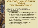 recruitment and selection process task organisation 8