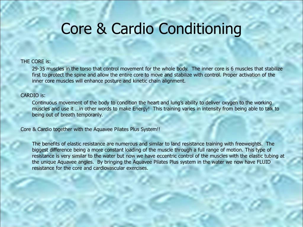 Core & Cardio Conditioning