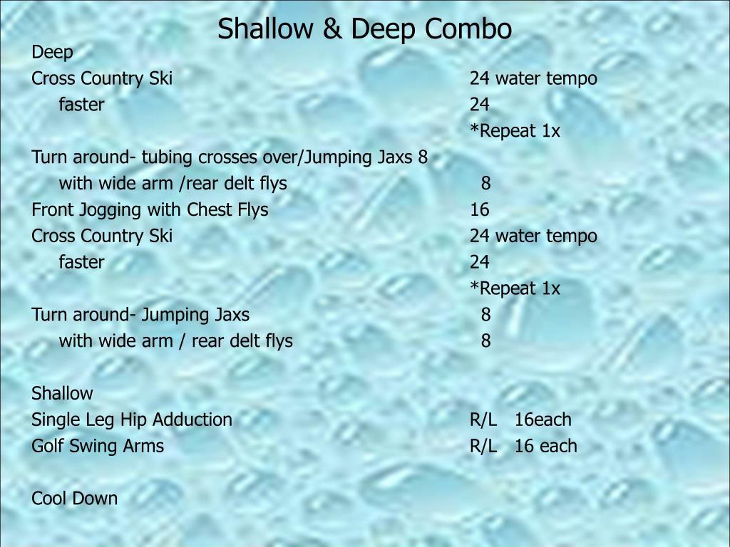 Shallow & Deep Combo