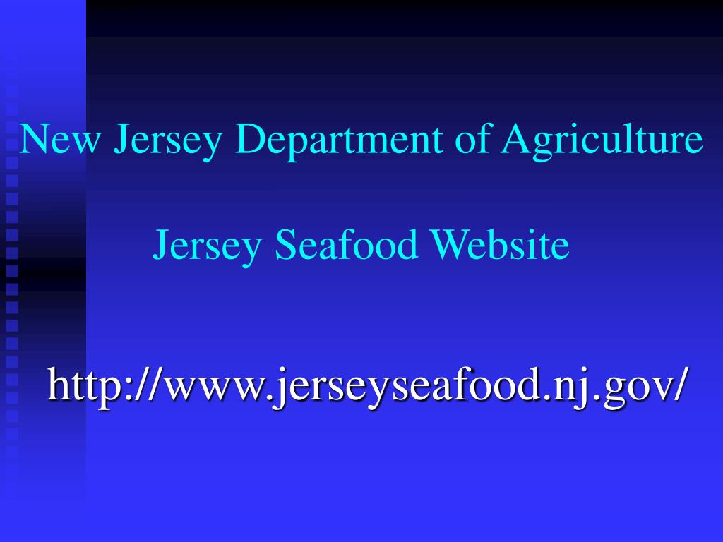 New Jersey Department of Agriculture