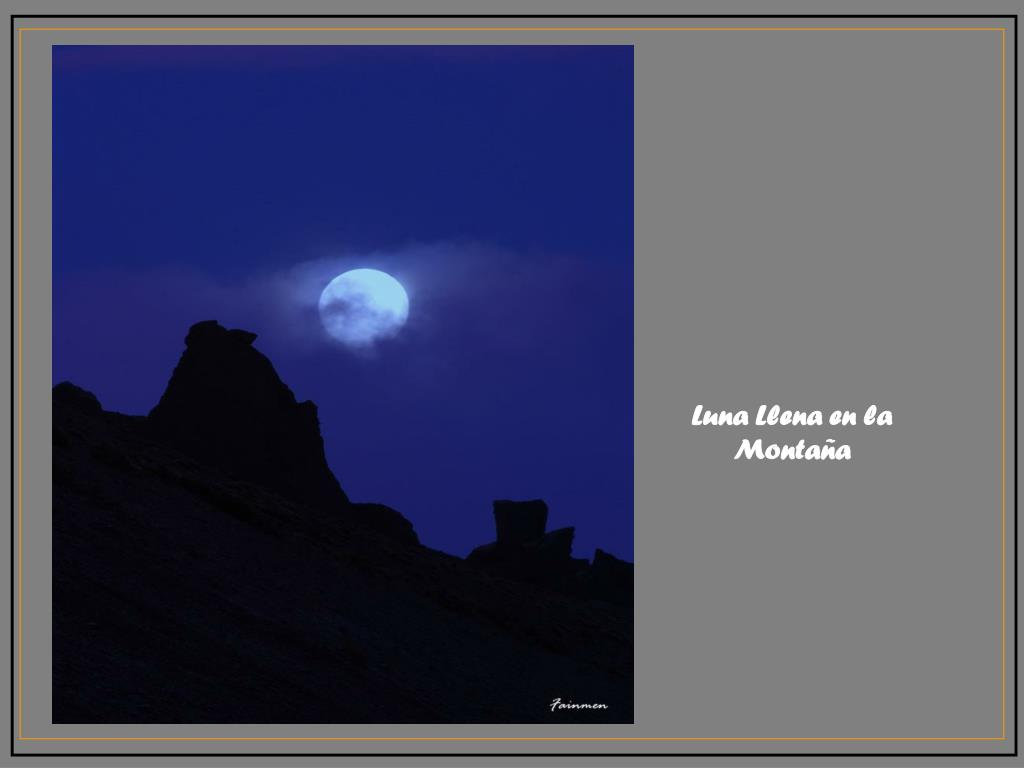 Luna Llena en la