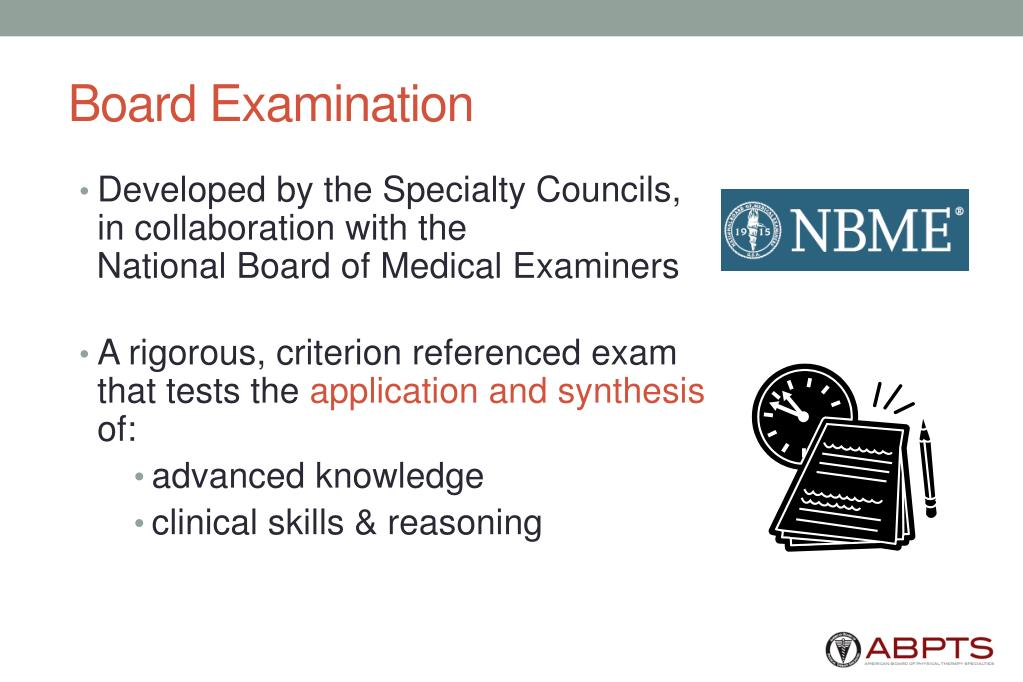 Board Examination