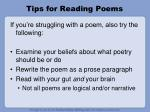 tips for reading poems5