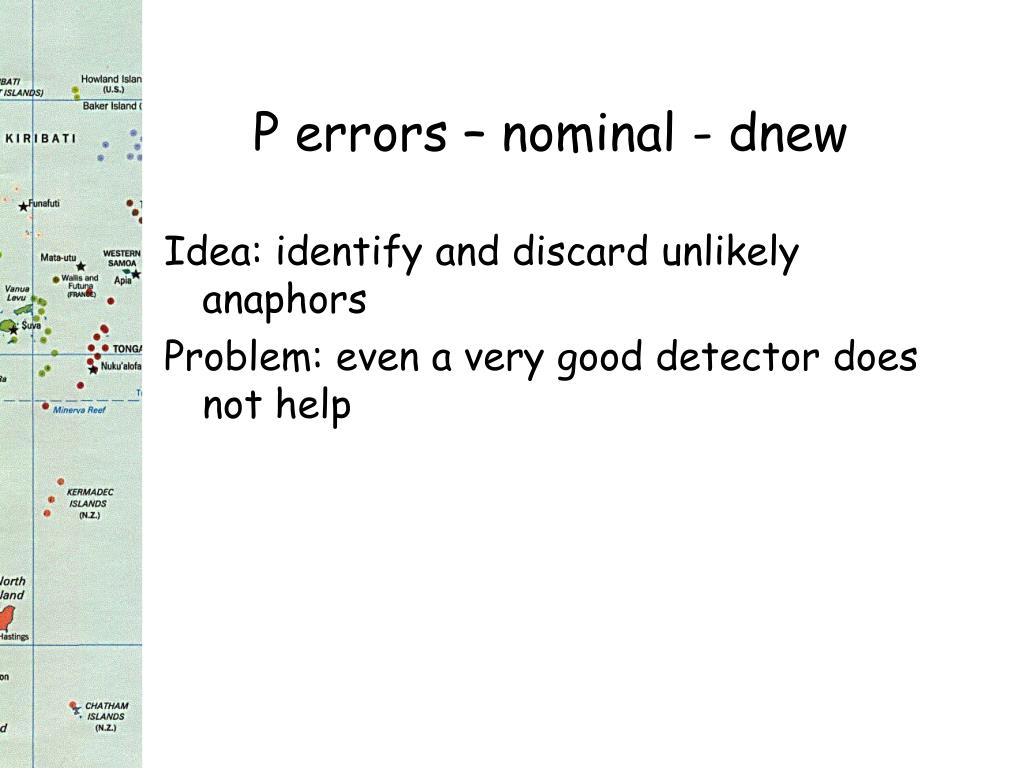 P errors – nominal - dnew