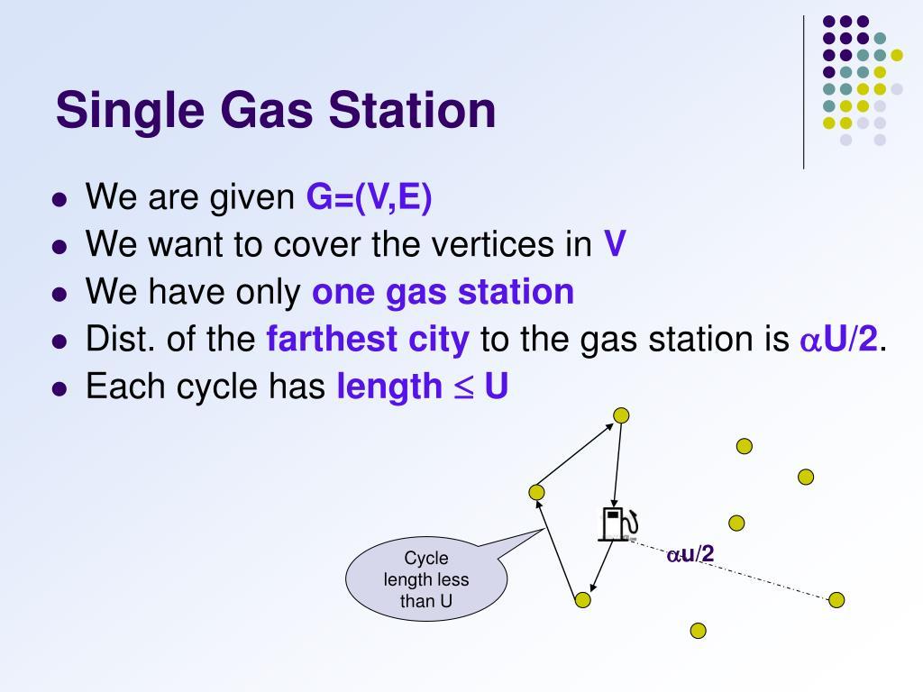 Single Gas Station