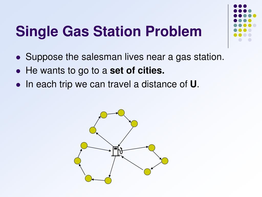 Single Gas Station Problem