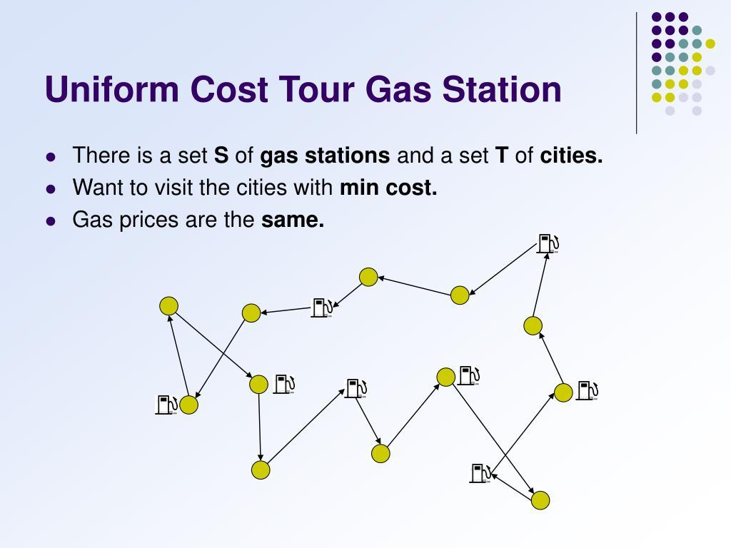 Uniform Cost Tour Gas Station