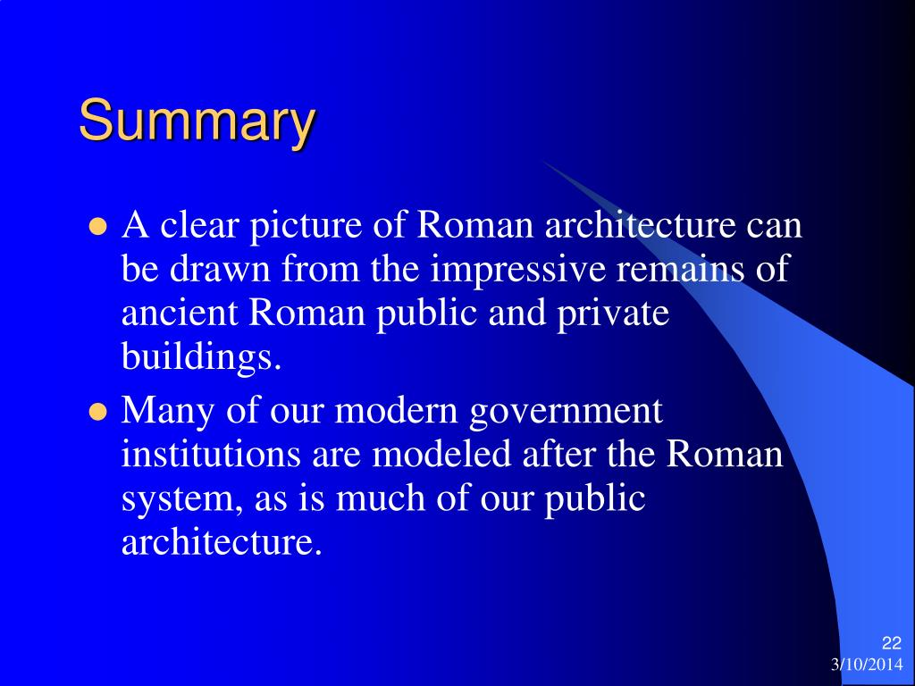an overview of the architecture in the ancient roman empire General art and architecture an overview of the roman empire looking at the political structure, daily life, religion, emperors, writers and social order information on history and culture of ancient rome including daily life, baths, gladiators, chariot racing, clothing, the army, politics, government, julius caesar, augustus,.