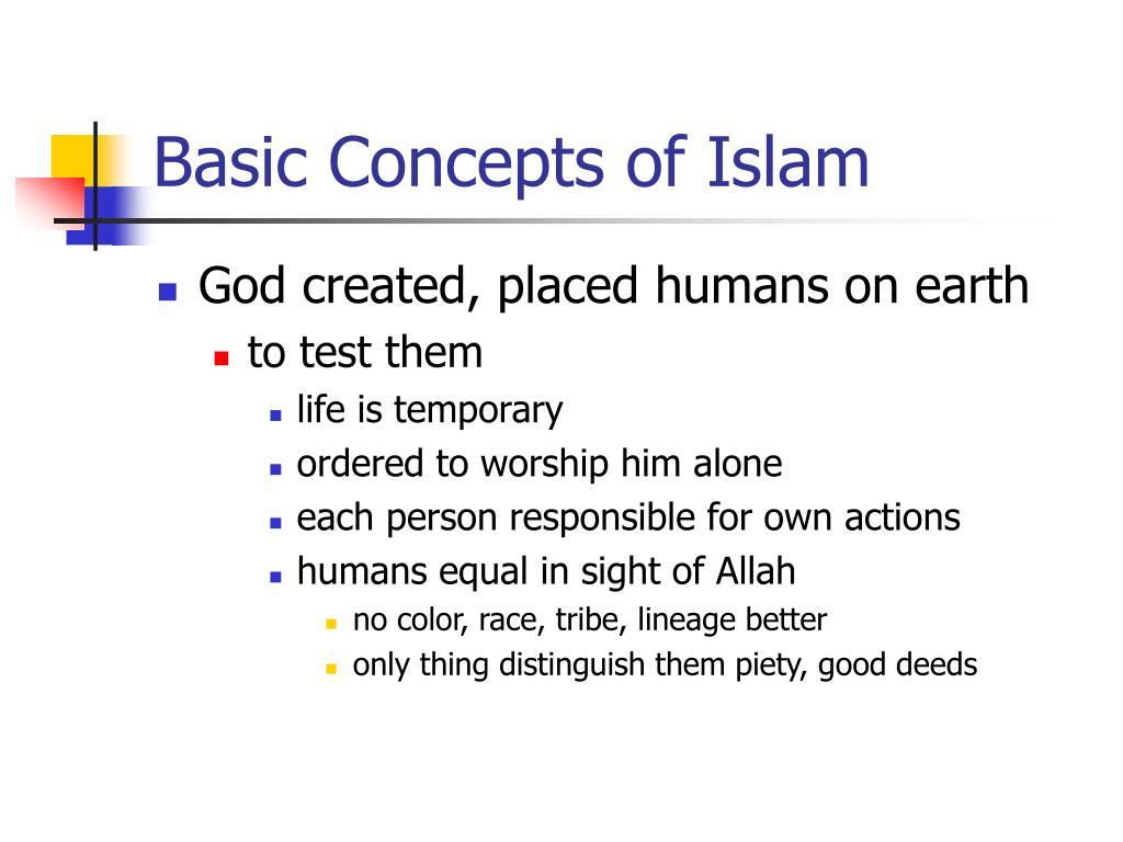 Basic Concepts of Islam