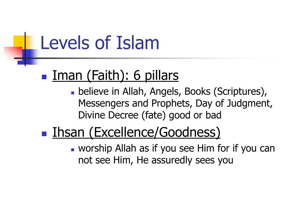 Levels of Islam