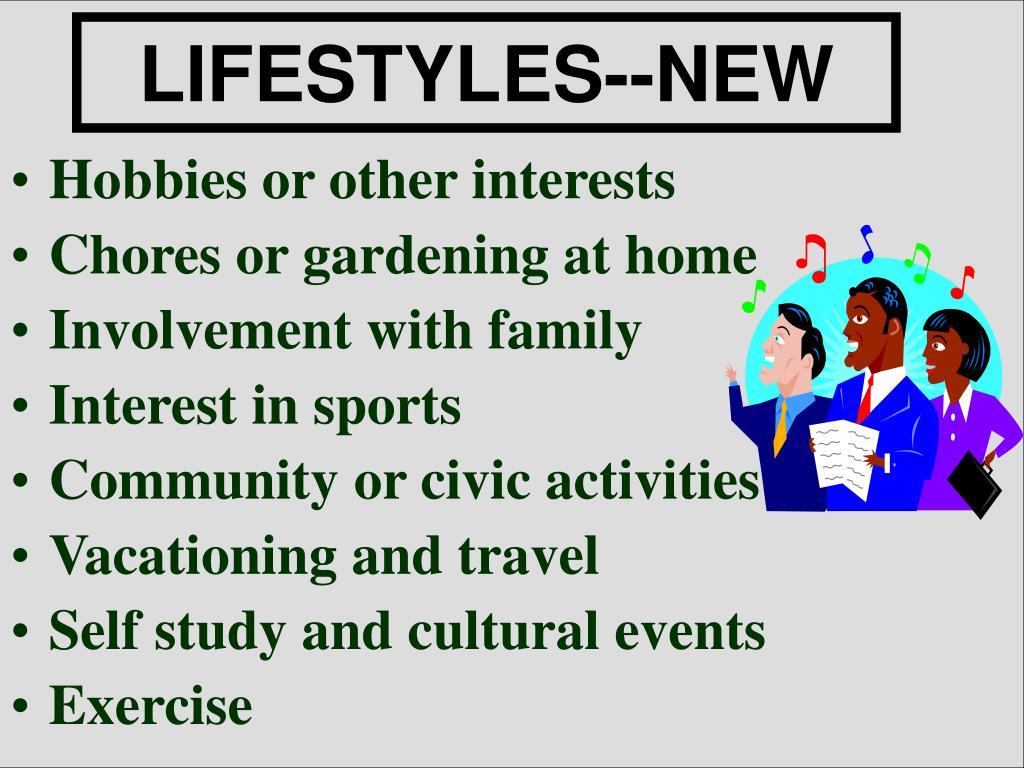 LIFESTYLES--NEW