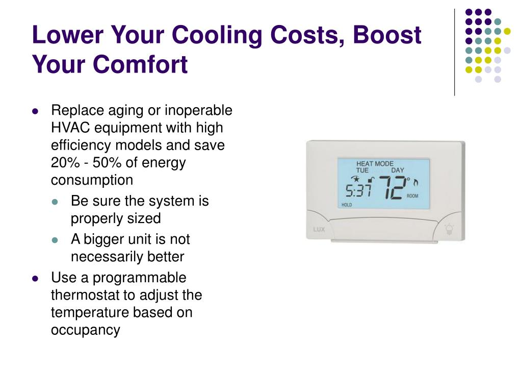 Lower Your Cooling Costs, Boost Your Comfort