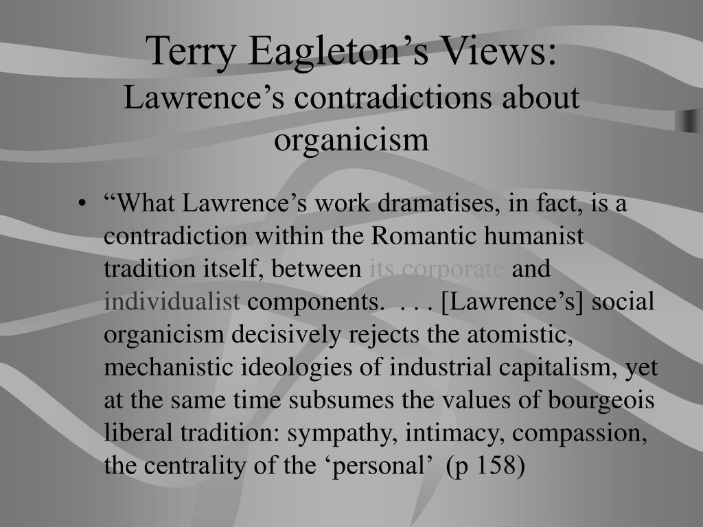Terry Eagleton's Views: