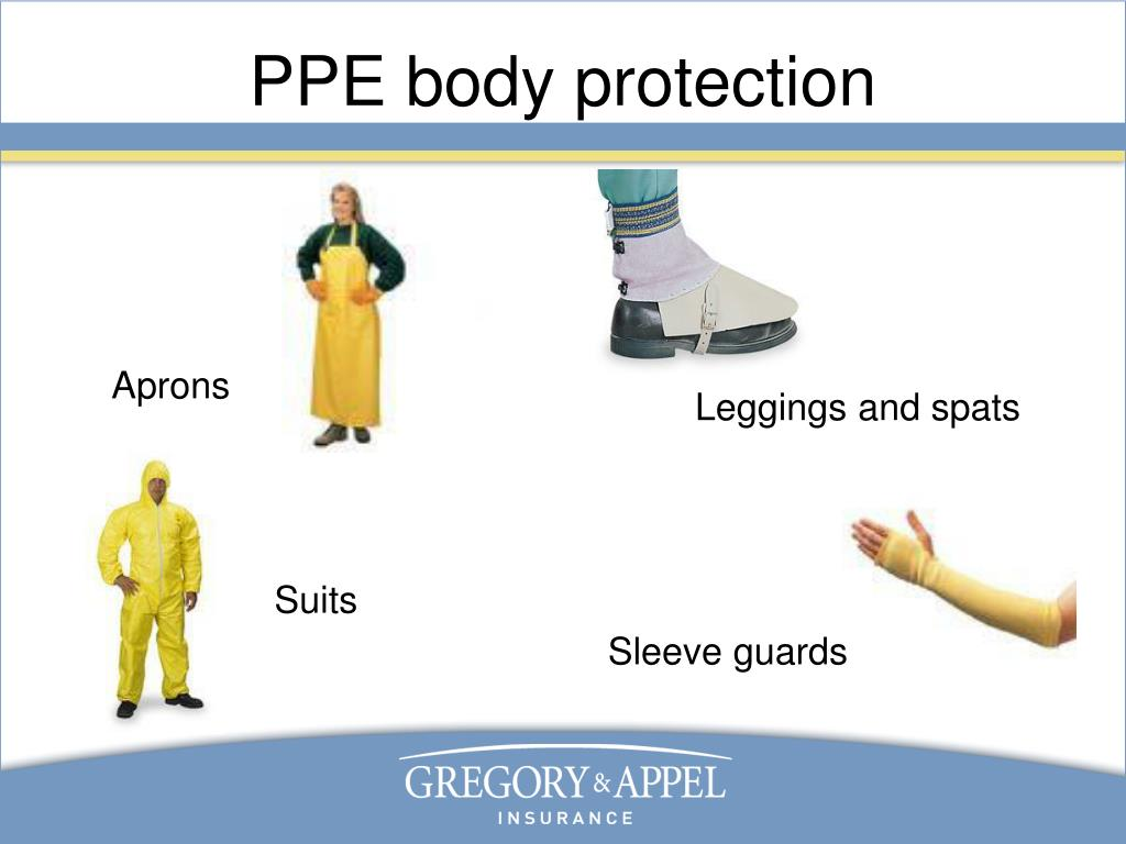 PPE body protection