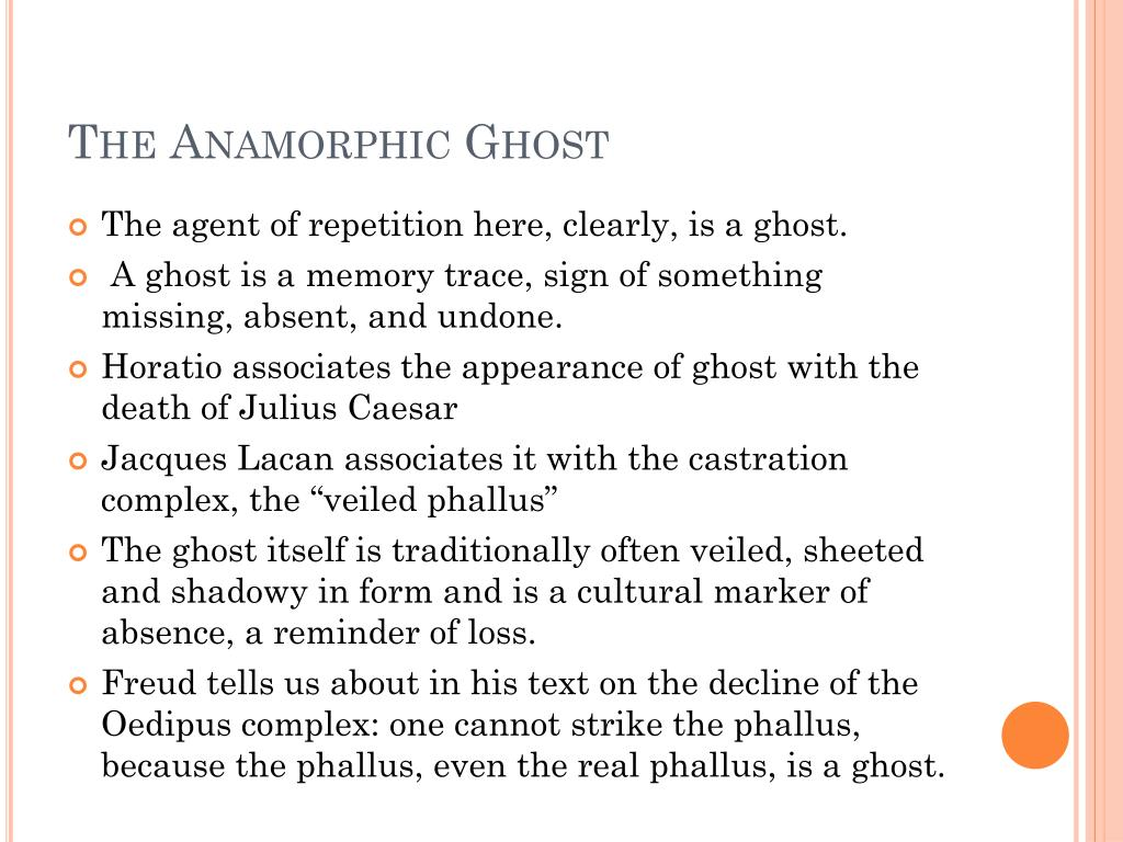 The Anamorphic Ghost