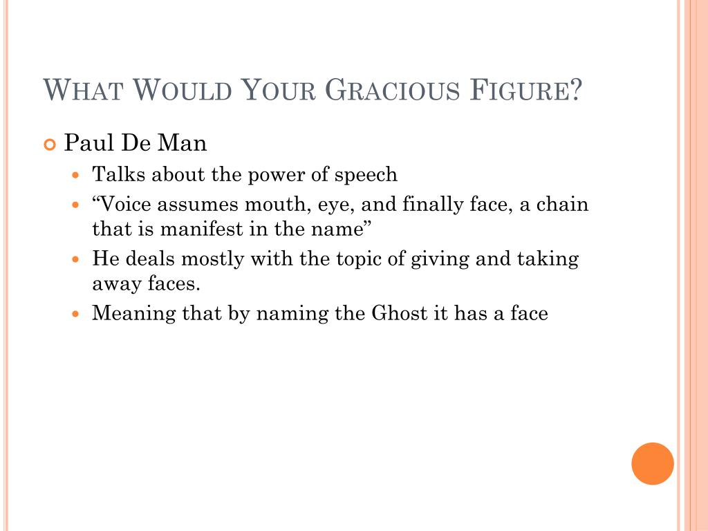 What Would Your Gracious Figure?