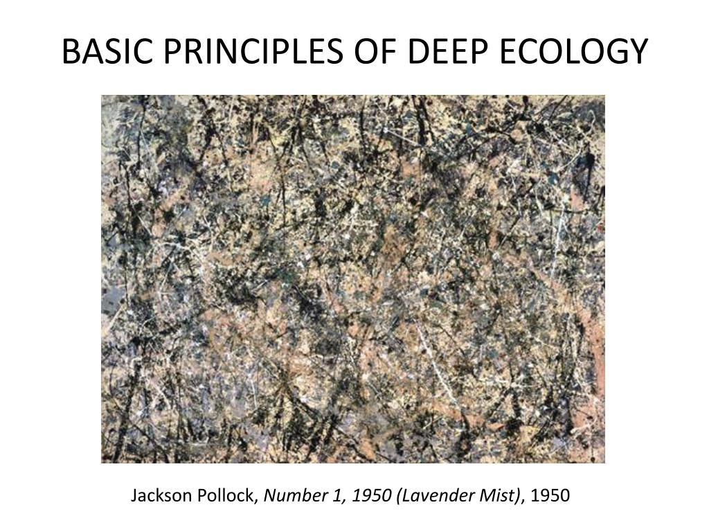 BASIC PRINCIPLES OF DEEP ECOLOGY