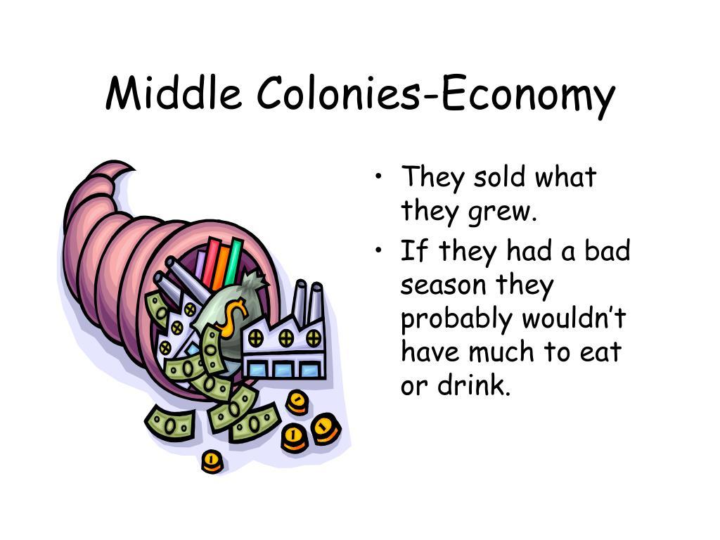 Middle Colonies-Economy
