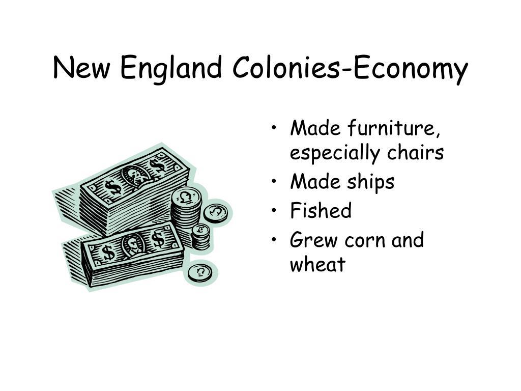 New England Colonies-Economy