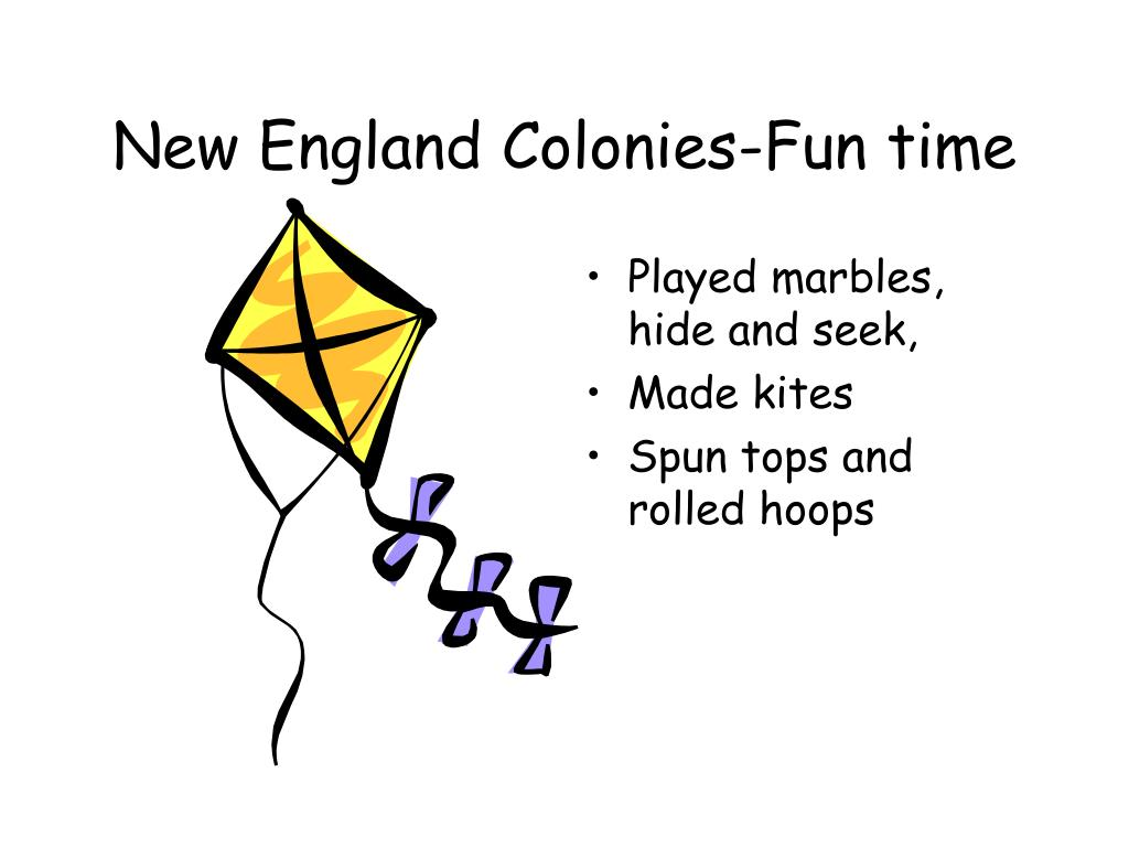 New England Colonies-Fun time