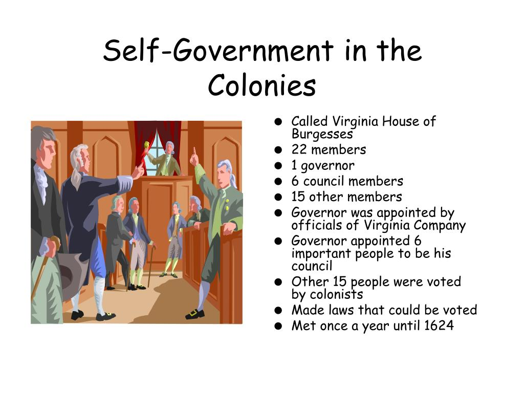 Self-Government in the Colonies