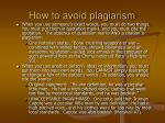 how to avoid plagiarism5