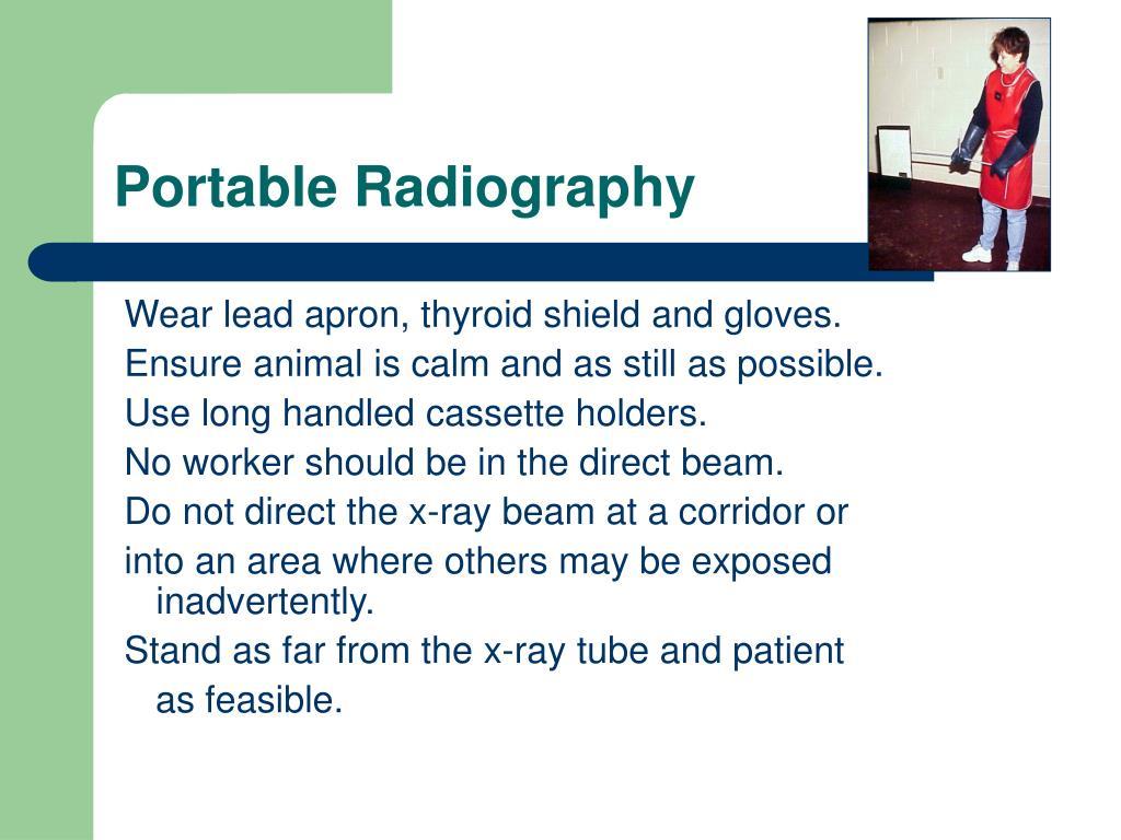 Portable Radiography