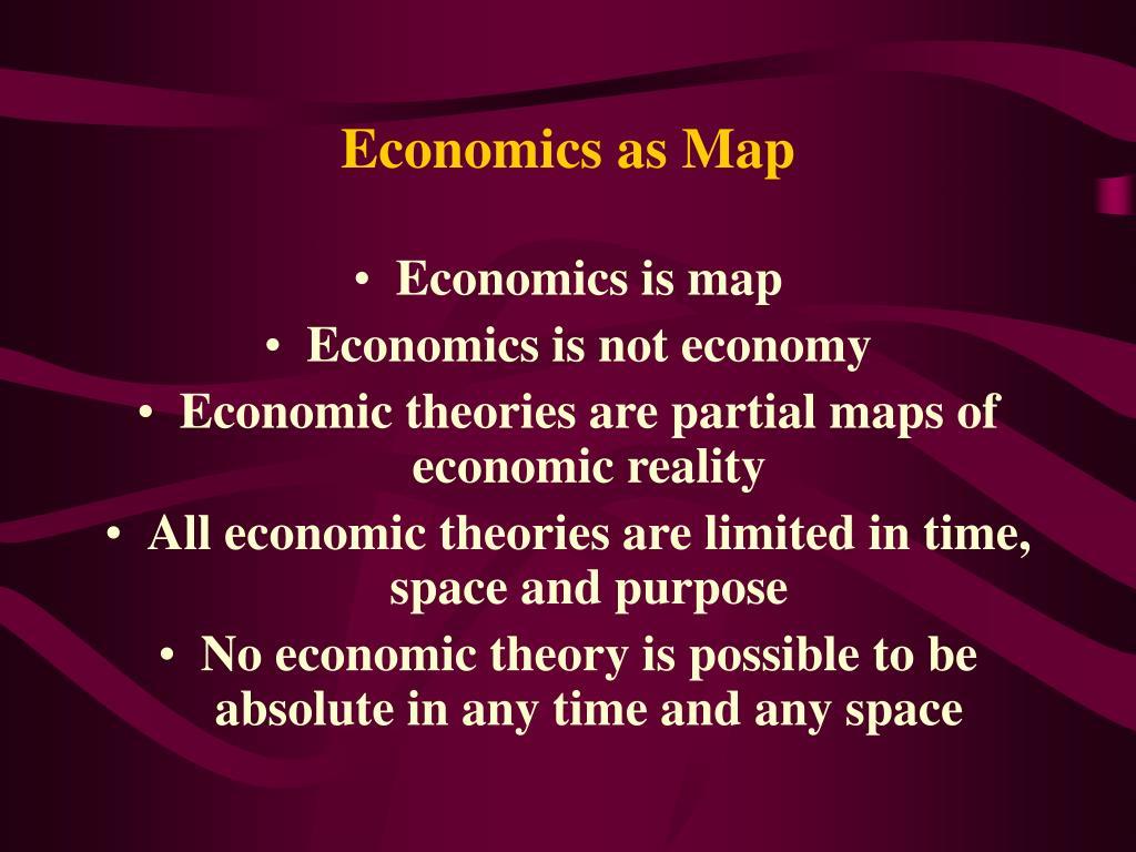 Economics as Map