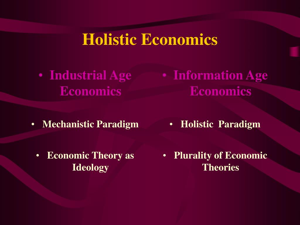 Industrial Age Economics
