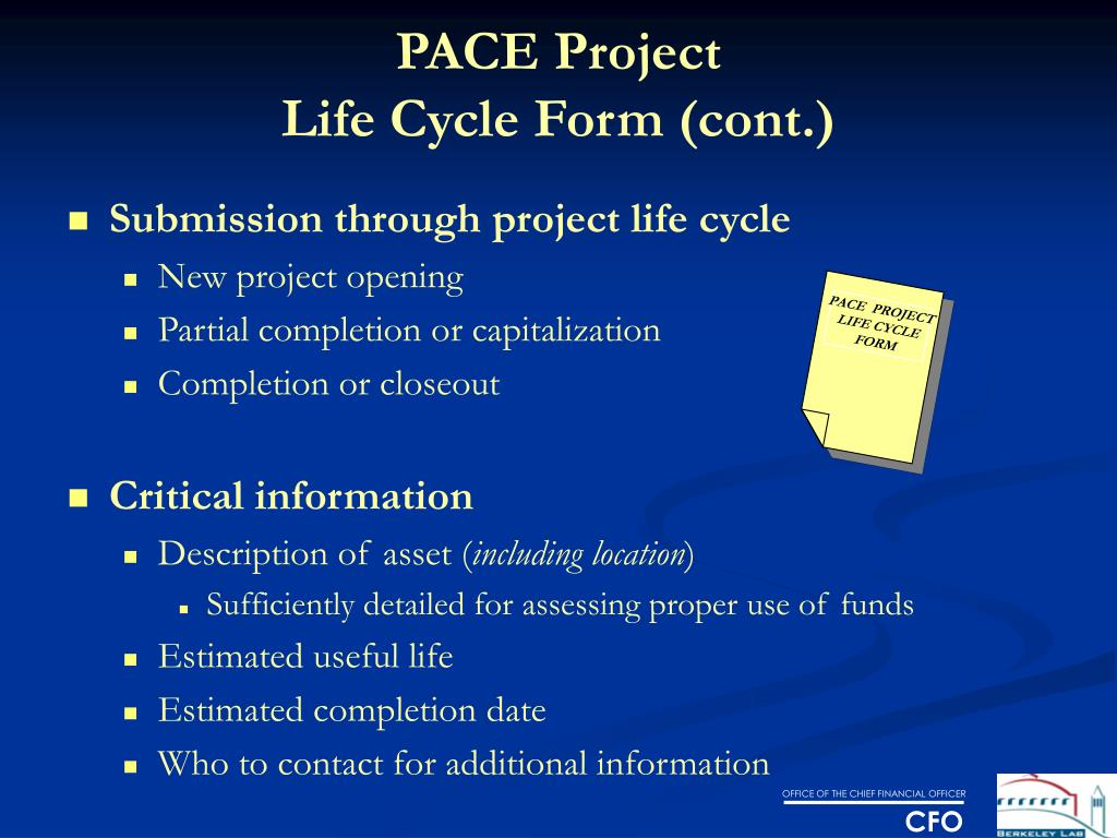 PACE  PROJECT