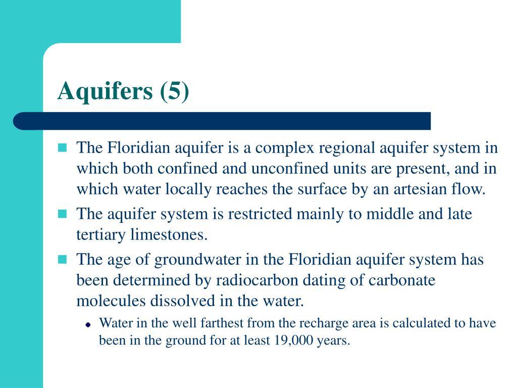 Aquifers (5)