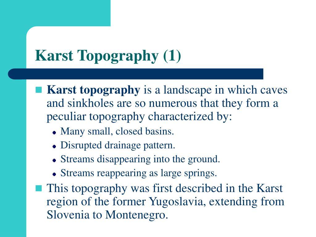 Karst Topography (1)