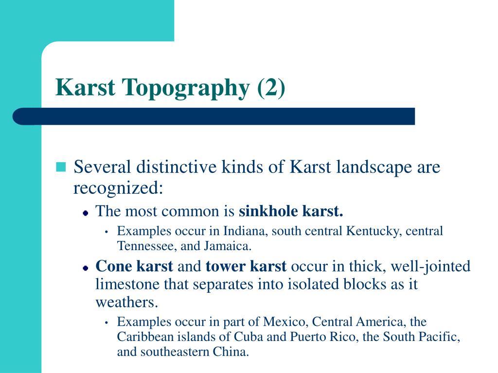 Karst Topography (2)
