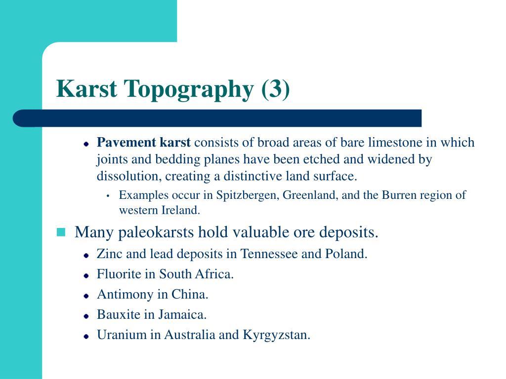 Karst Topography (3)