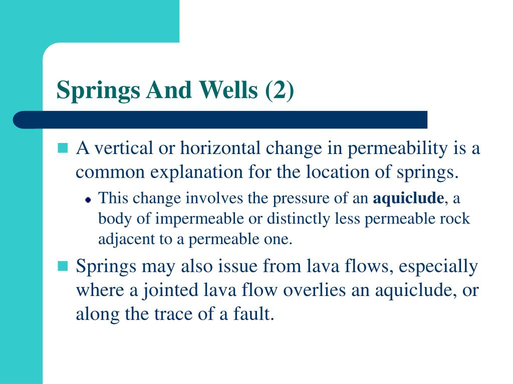 Springs And Wells (2)