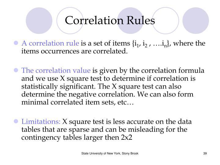 Correlation Rules